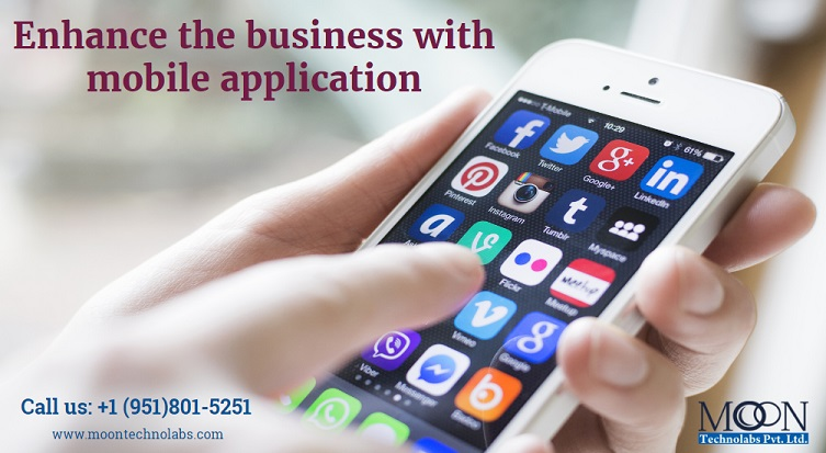 Enhance the business with mobile application