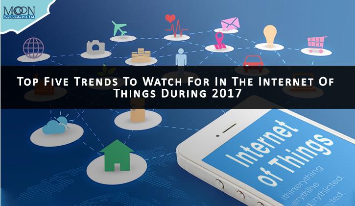 top 5 trends of IoT