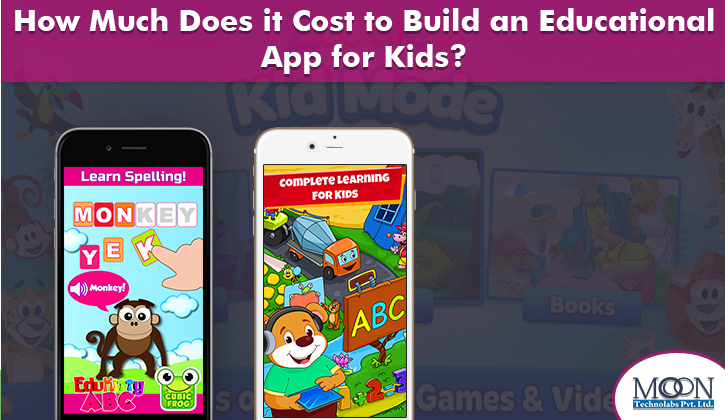 cost of education app for kids