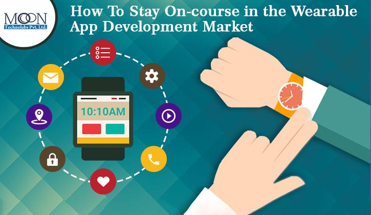 market of wearable app development