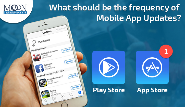 need of mobile app updates