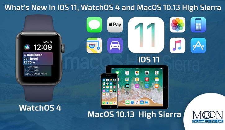 iOS 11 watchOS 4 macOS 10.13