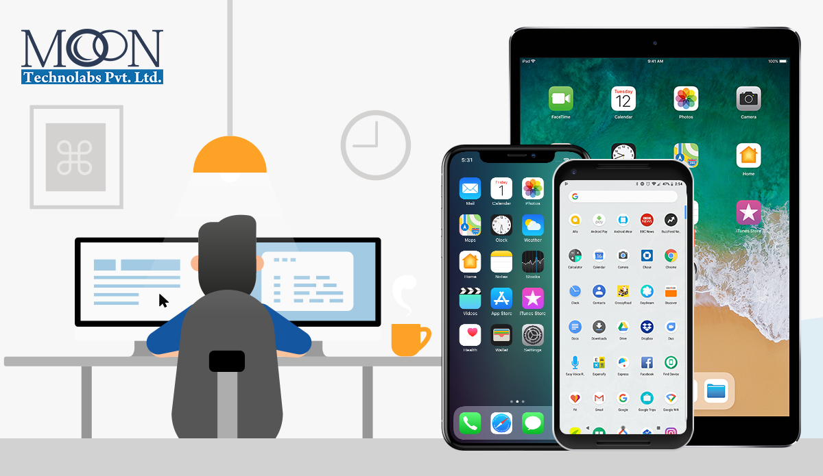 Necessary Steps Involved In The Making Of iPhone, iPad or Android Apps