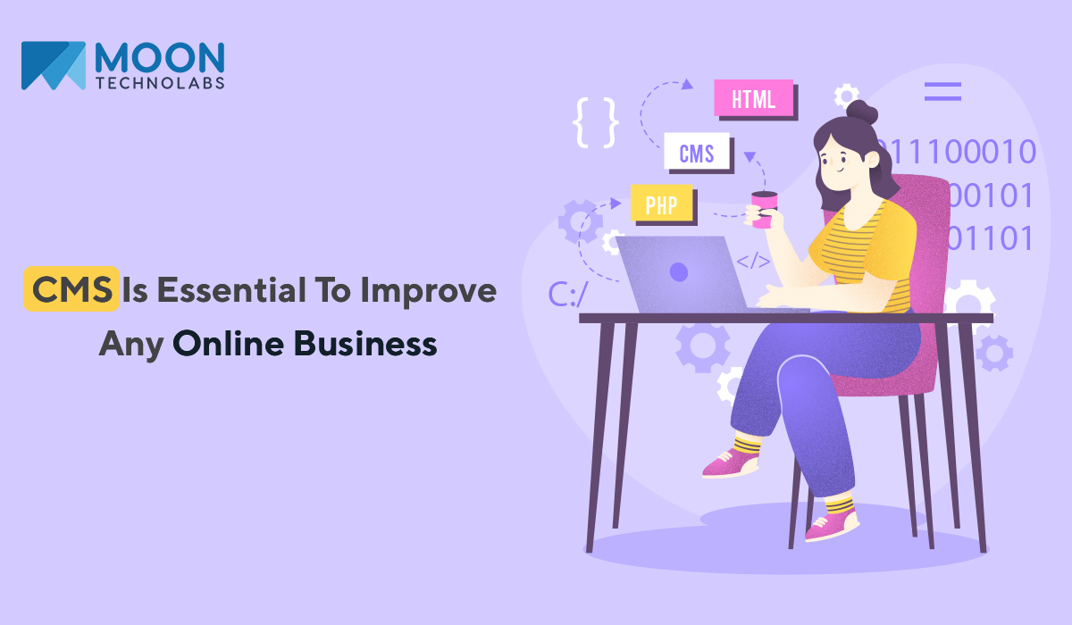 CMS benefits for online business