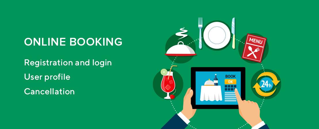 online booking for restaurant