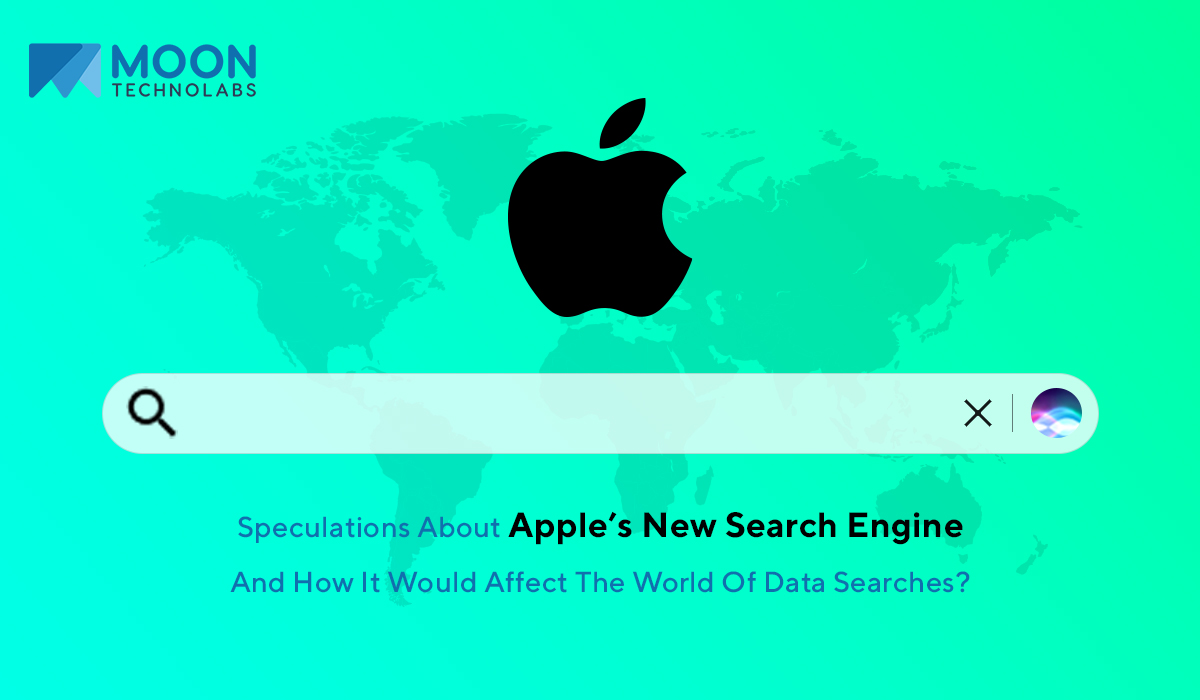 about Apple's upcoming search engine