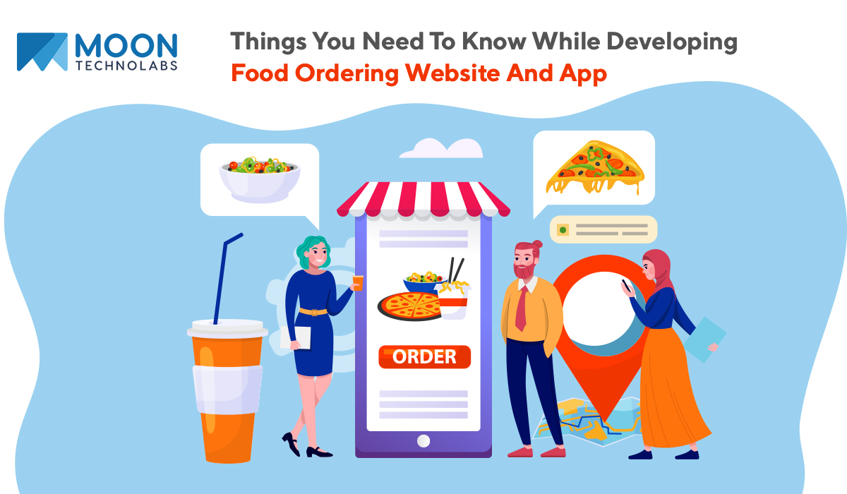 designing food delivery websites and apps