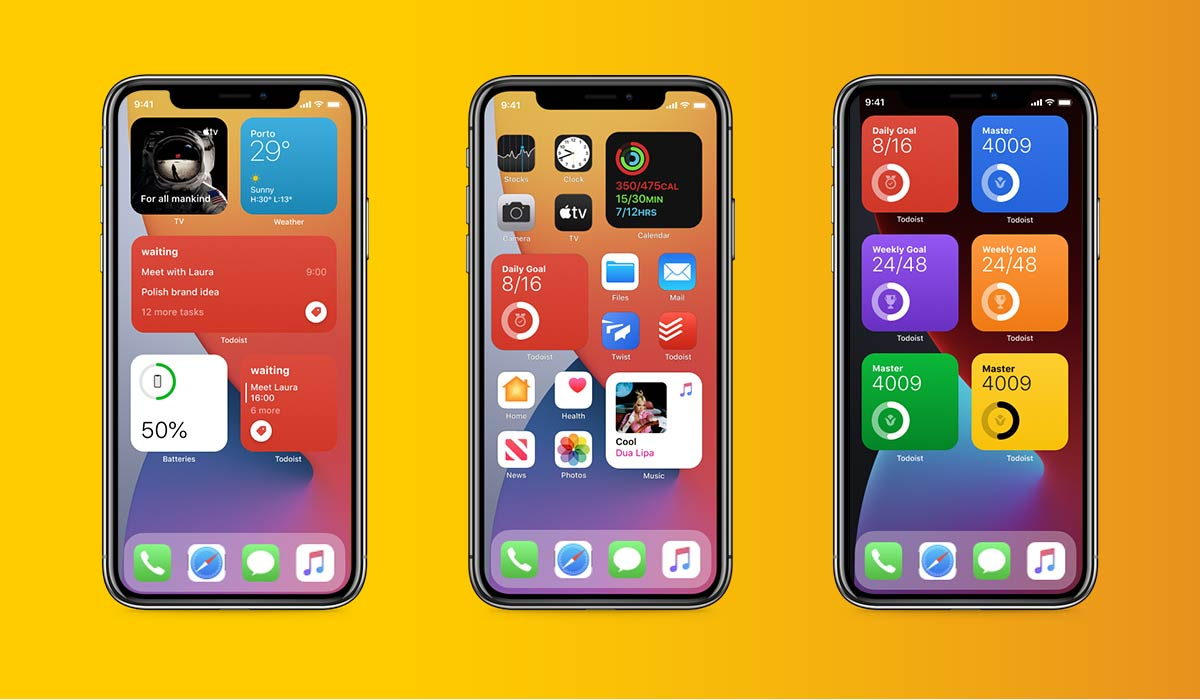 what is new in iOS14