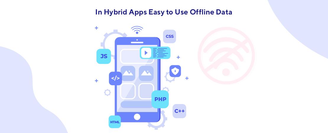 in hybrid apps easy-to-use offline data