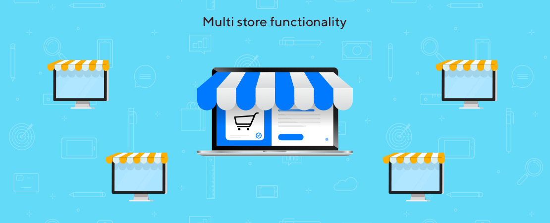 multi store functionality