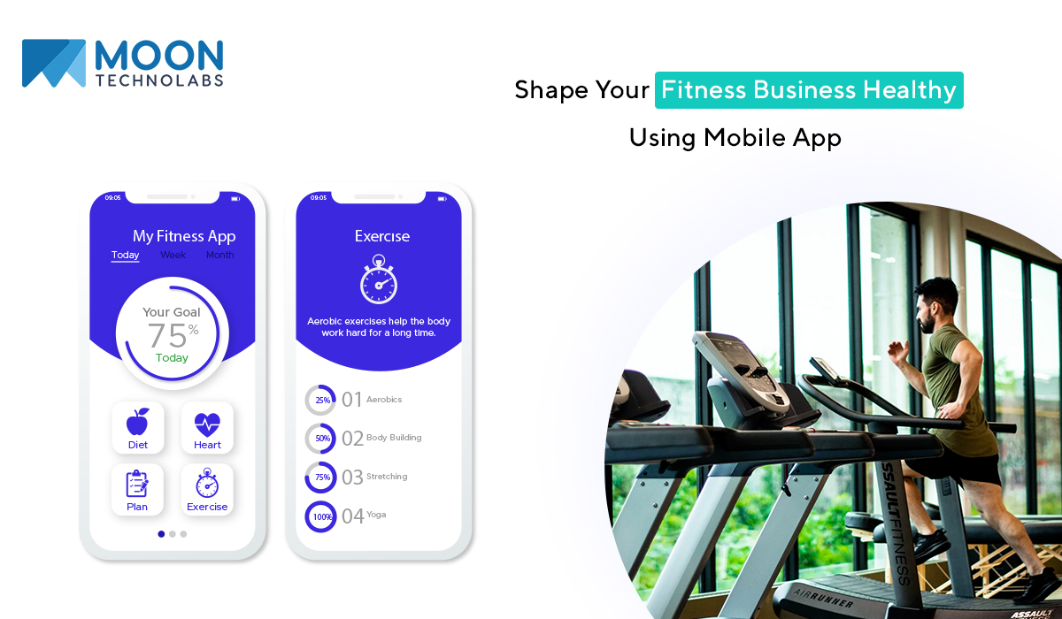 mobile app for fitness business