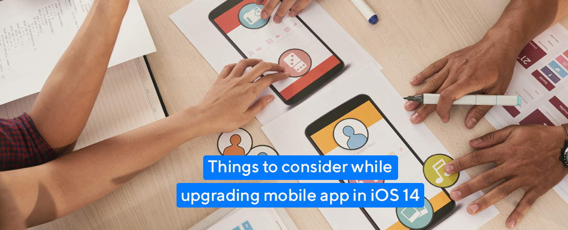 know while upgrading mobile app in iOS