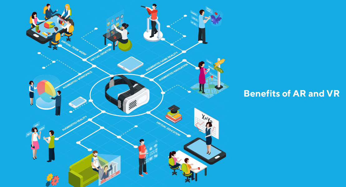 know about benefits of AR and VR