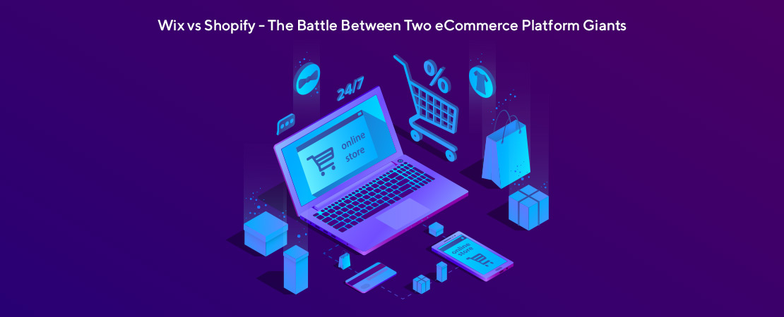Wix vs Shopify the battle between two eCommerce platform giants