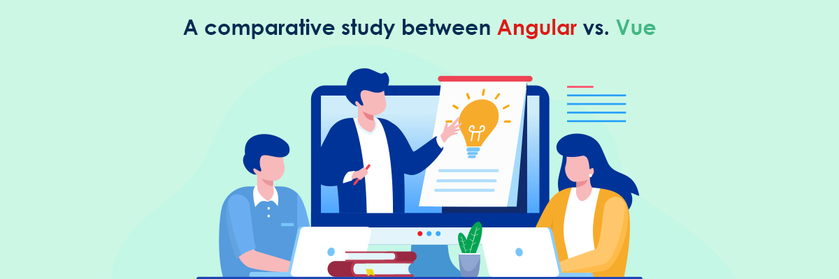 comparative study between Angular vs Vue
