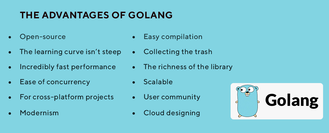 benefits of Golang