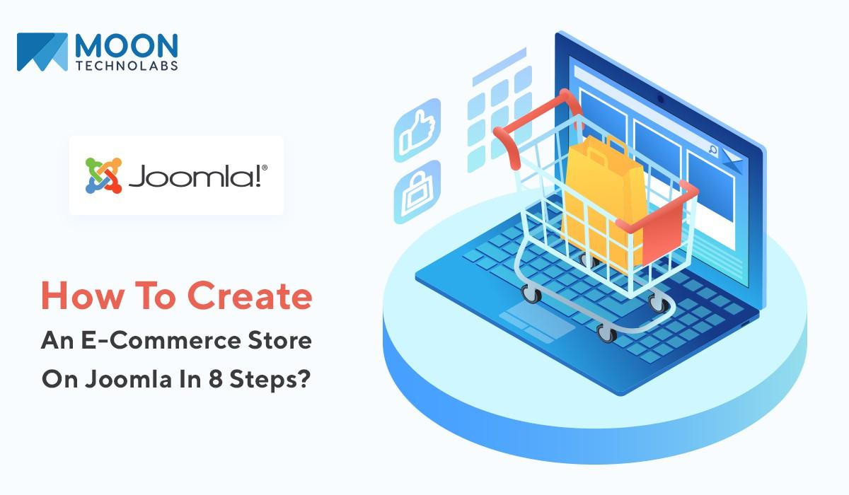 create an eCommerce store using Joomla