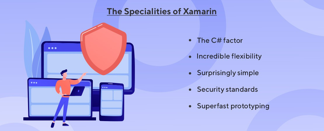 features of Xamarin technology