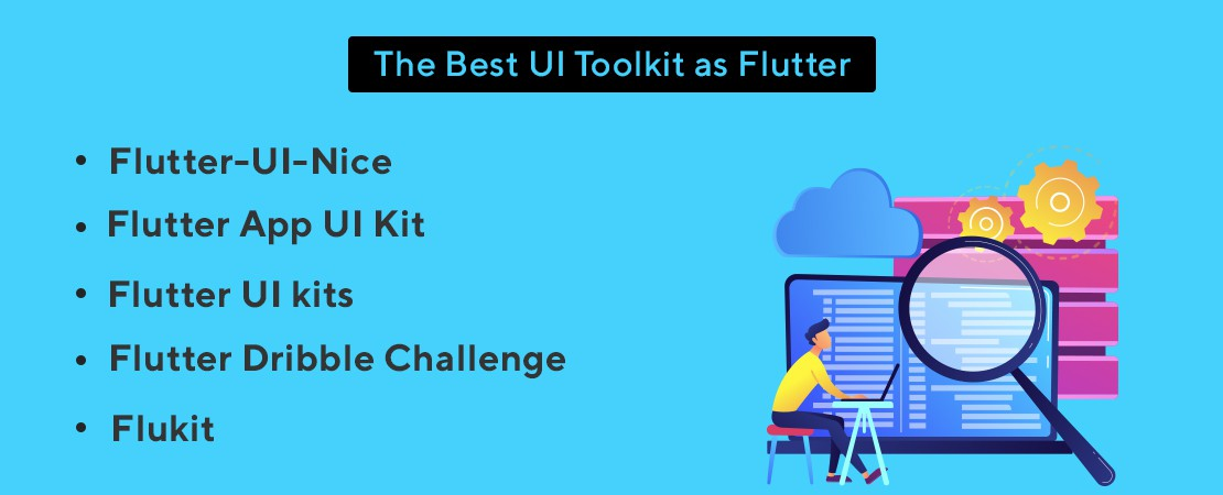 UI toolkits of Flutter