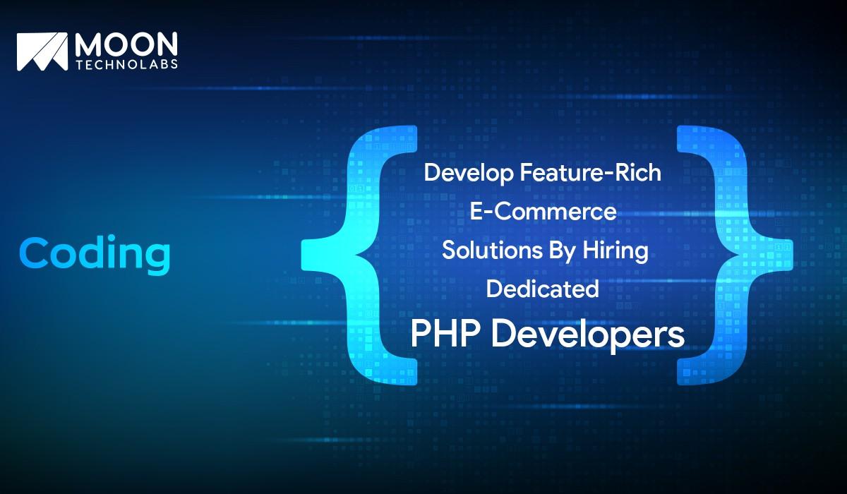 develop feature-rich eCommerce solutions
