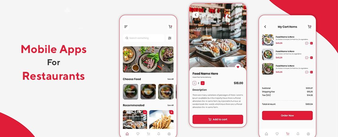mobile apps development for restaurants