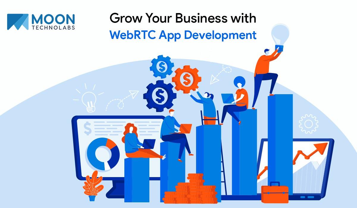 boost business using WebRTC technology