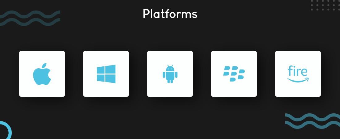 various platforms for frameworks