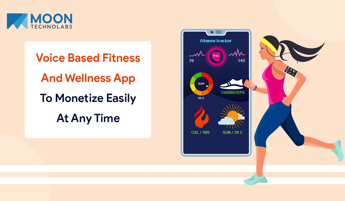 voice based fitness and wellness app