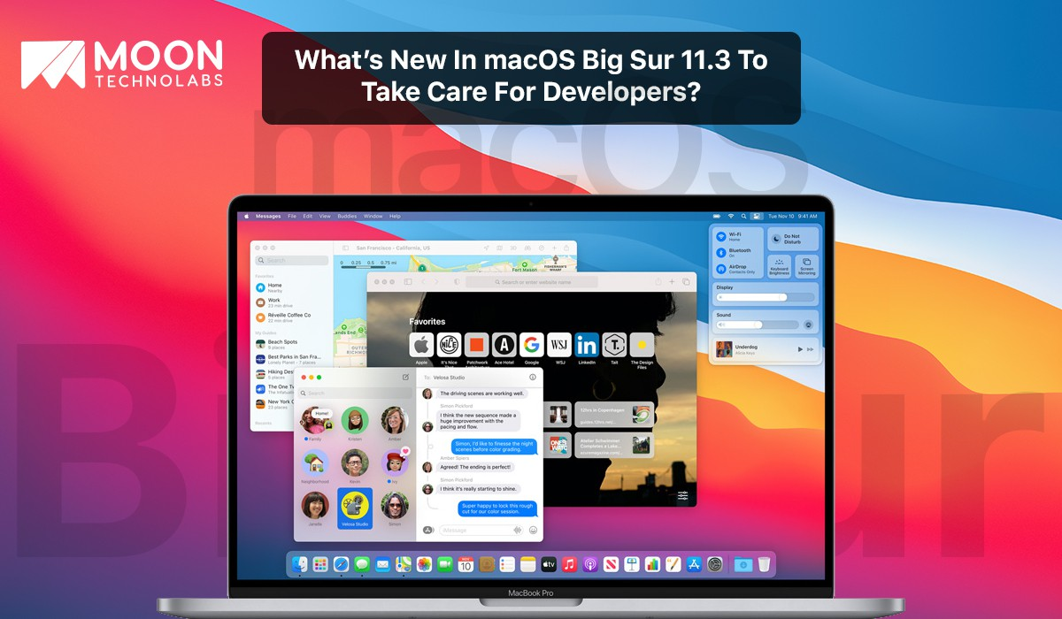 what's new in macOS Big Sur 11.3