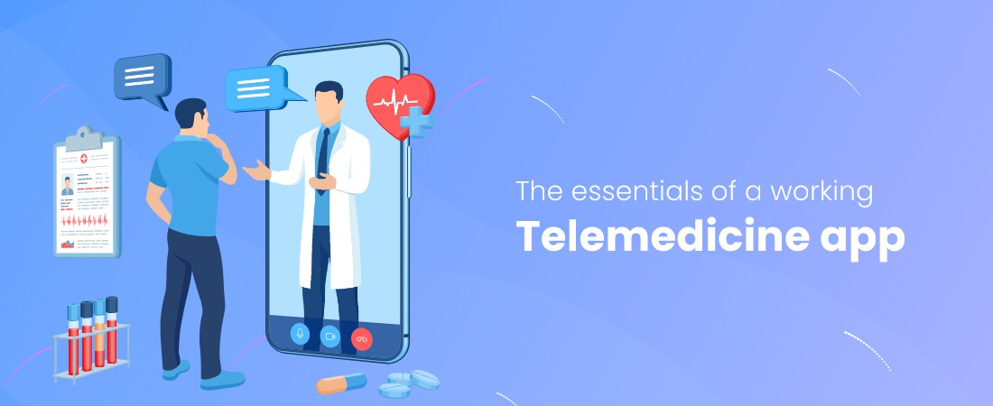cost of developing a telemedicine app