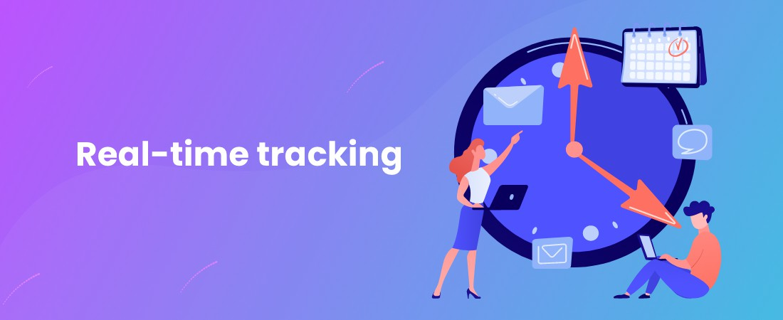 real time tracking using nodejs