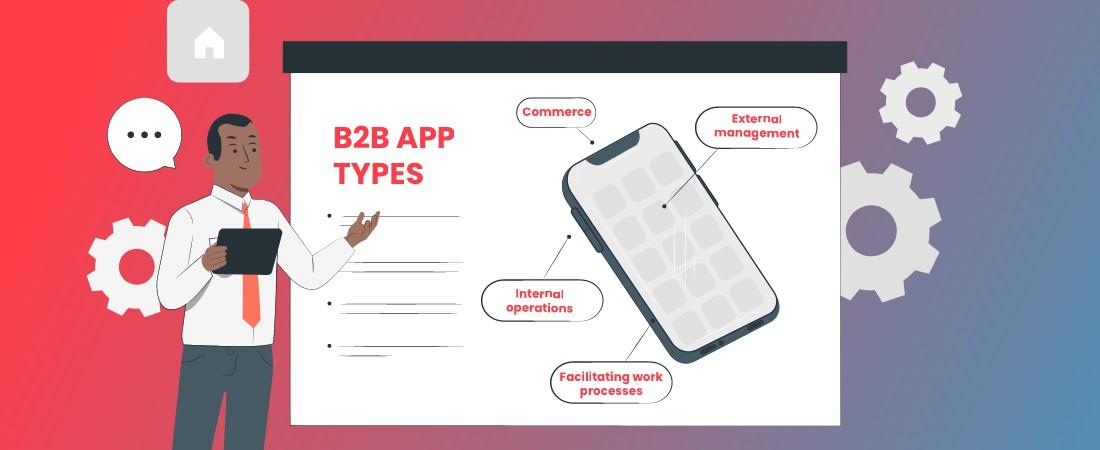 app types of B2B model