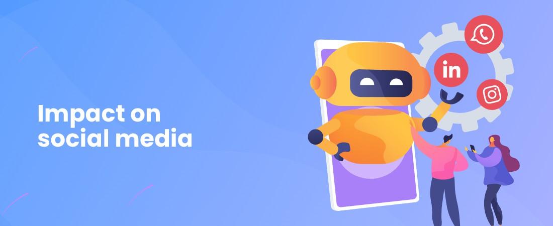 AI impact on social media