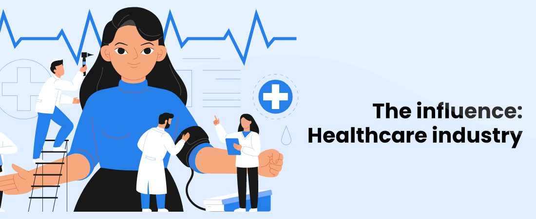 influence of healthcare industry