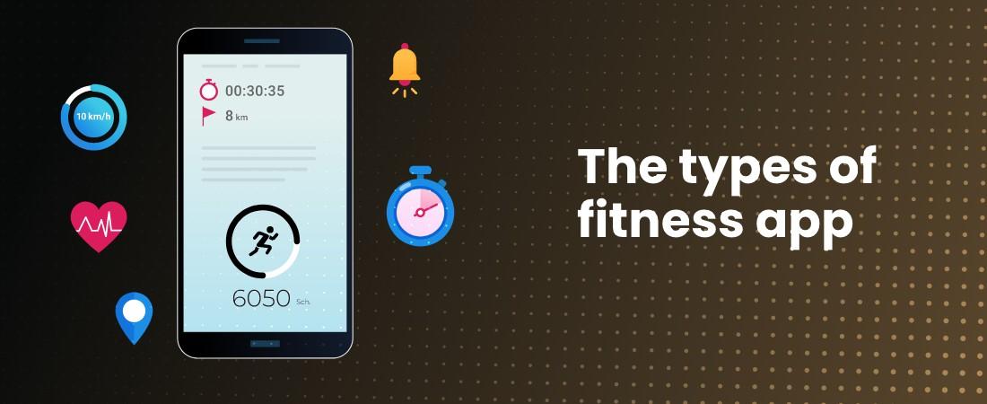 types of fitness app