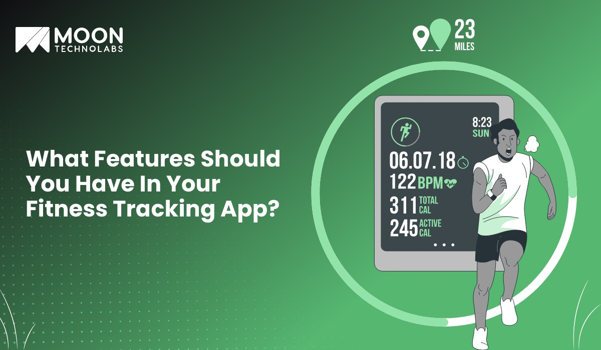 features in fitness tracking app