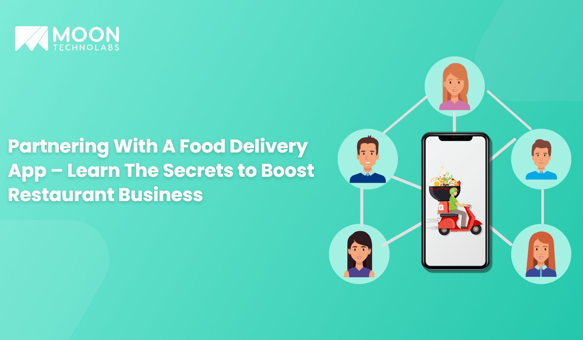 partnering with a food delivery business