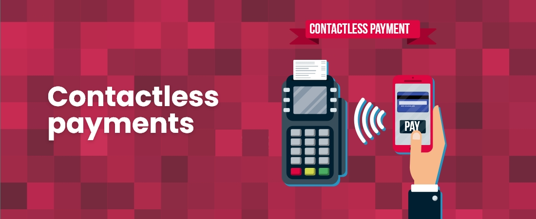 Contactless payments through customize IT services and solutions Compnies - Moon Technolabs