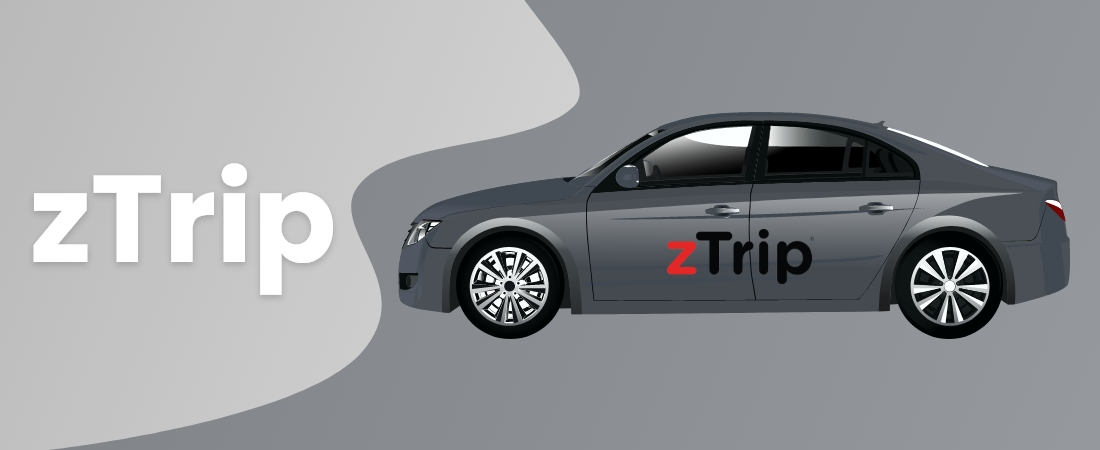 zTrip taxi booking mobile apps - Moon Technolabs