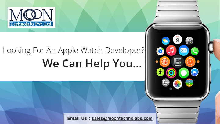 Moon Technolabs launches its first Apple Watch app