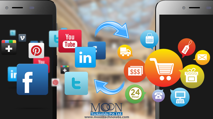 Best tips to use social media for your ecommerce website or app