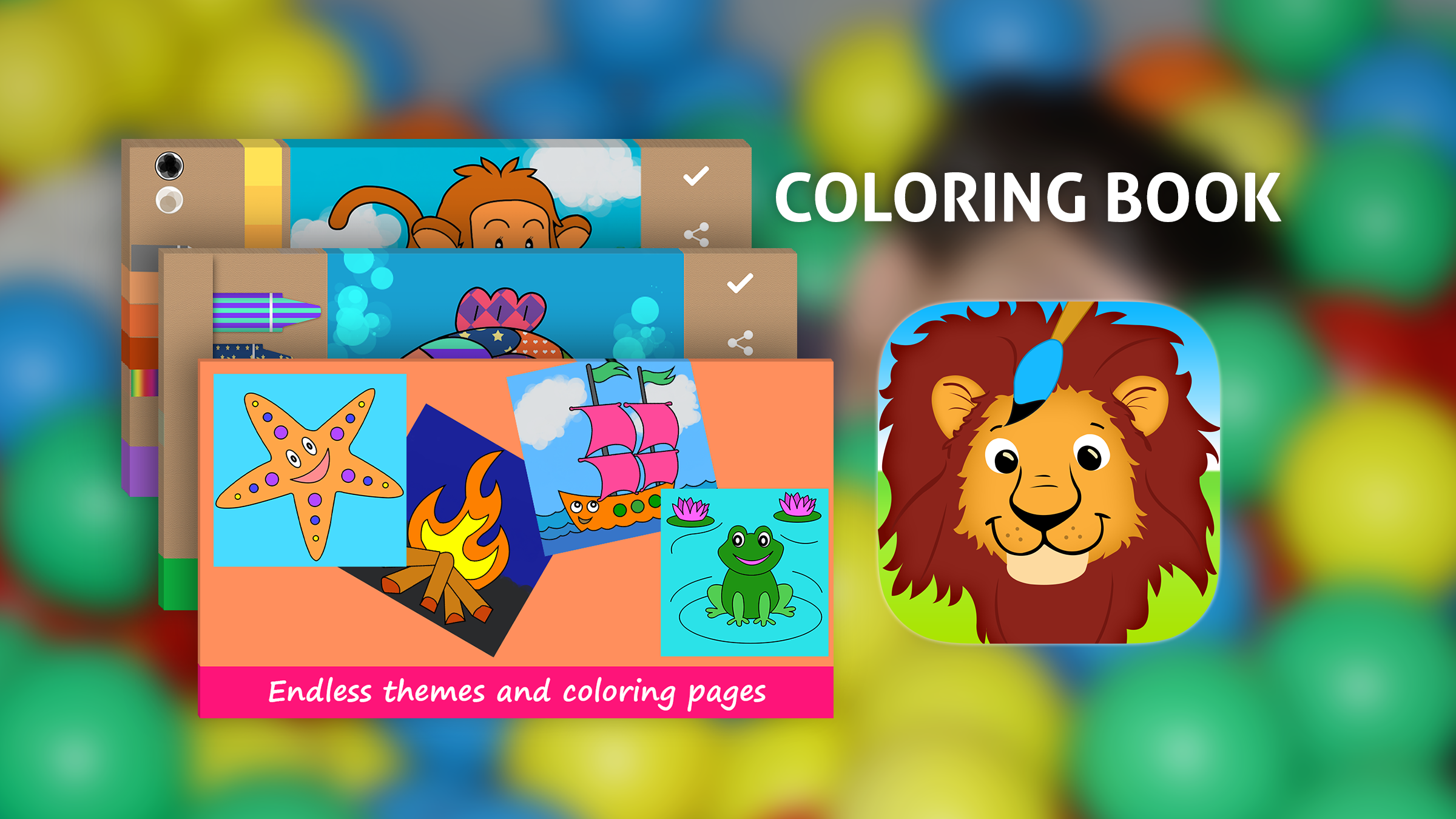 Coloring Book Educational Pages For Kids App