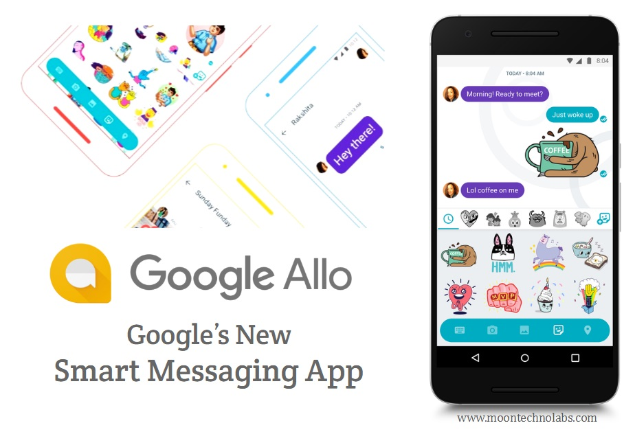 Google Allo Smart Messaging App