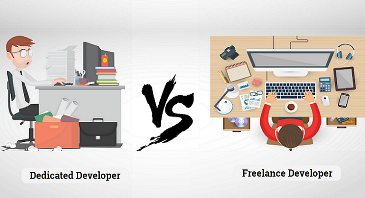 Dedicated Developer Vs Freelancer