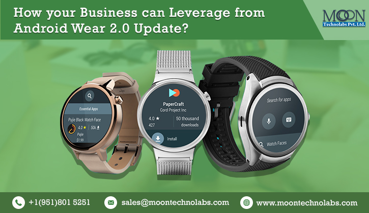 Know How Google's latest Android Wear is Beneficial for your Business