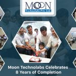 Moon Technolabs Celebrates 8th Anniversary of Completion with Team