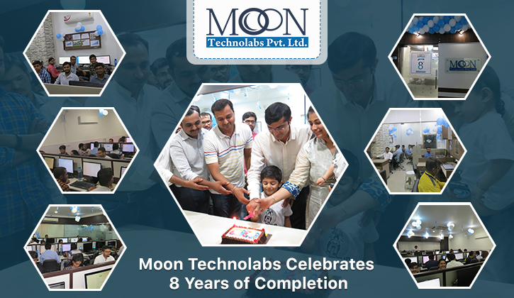 Moon Technolabs 8th Anniversary Celebration