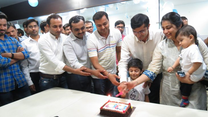 Cake Cutting - 8th Year Completion Celebration