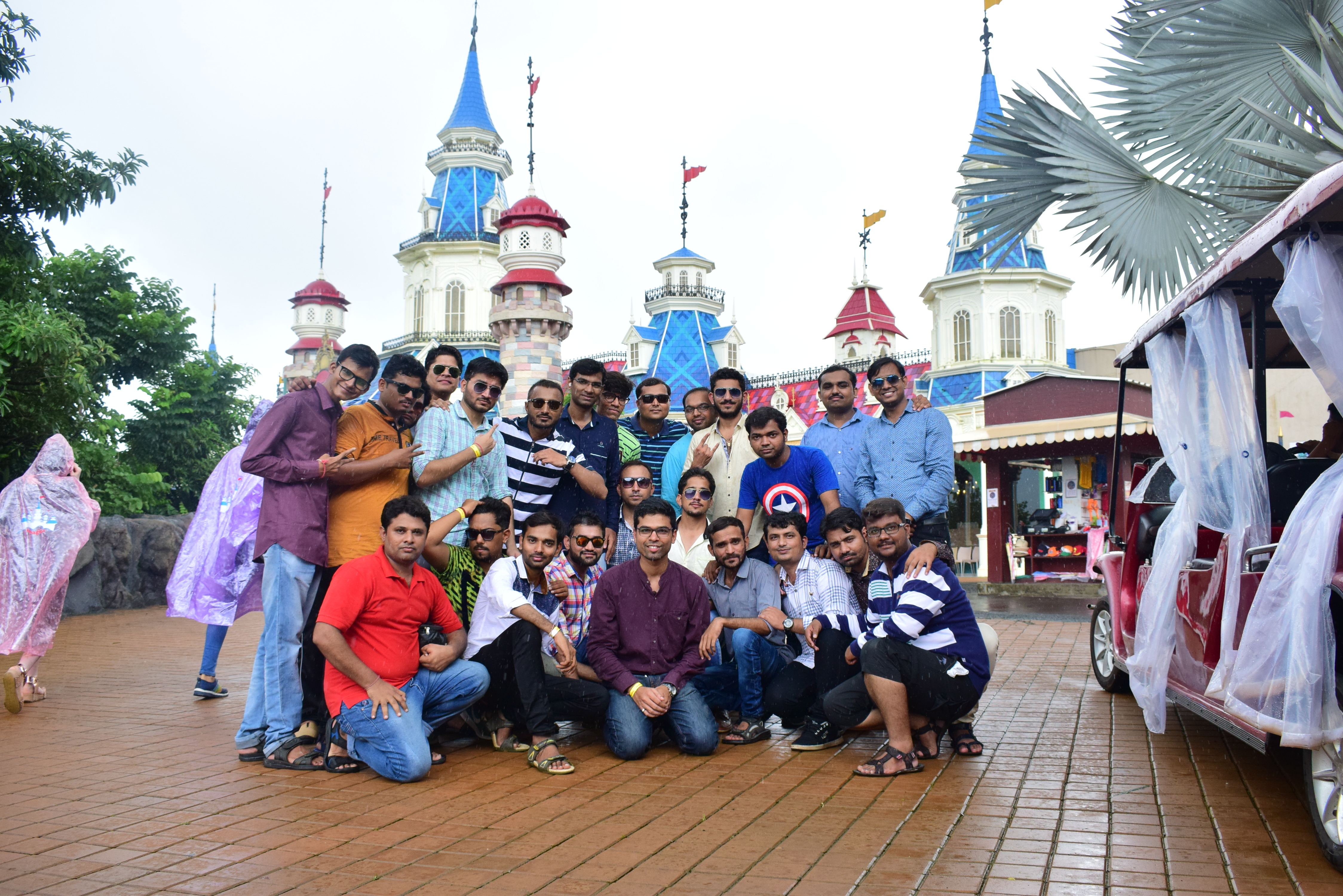 Enjoying at Imagica