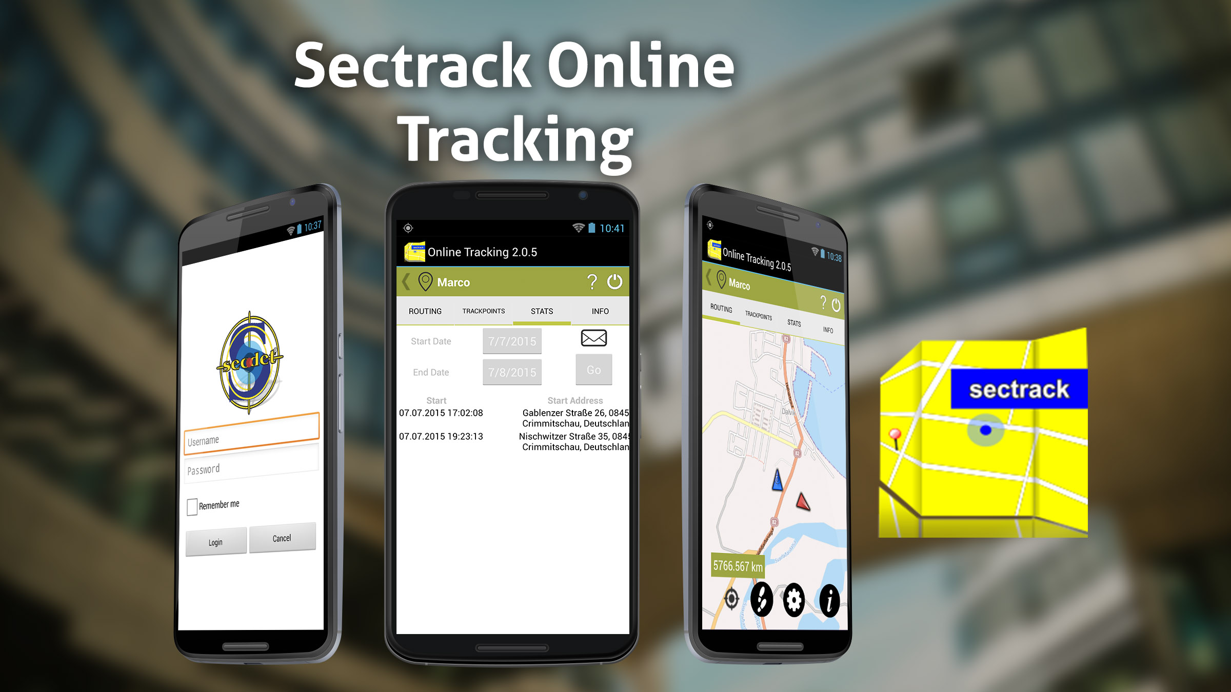 sectrack-online-tracking